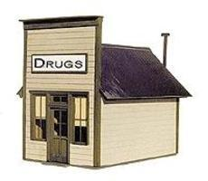 BTS Cabin Creek Series - Small Store - 1-5/8 x 2-11/16 HO Scale Model Railroad Building #27225