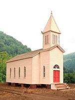 BTS Rural Church - Kit - 3-5/16 x 7-11/16 HO Scale Model Railroad Building #27232