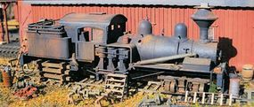 BTS Derelict Shay - McCabe Series Kit - HOn3 HO Scale Model Railroad Trackside Accessory #28311