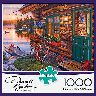 Buffalo Games Bush Summertime 1000pcs -- Jigsaw Puzzle 600-1000 Piece -- #11230