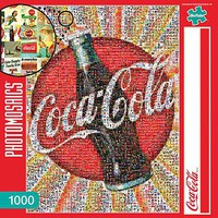 Buffalo-Games Coca-Cola Photomosaic 1000pcs Jigsaw Puzzle 600-1000 Piece #11268