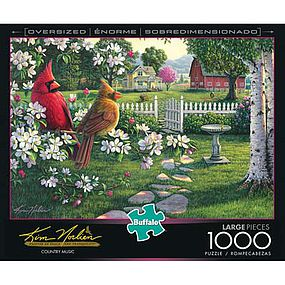 Buffalo-Games Country Music 1000pcs Large Format Jigsaw Puzzle 600-1000 Piece #11545
