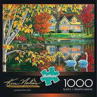 Buffalo-Games Autumn Reflections 1000pcs Jigsaw Puzzle 600-1000 Piece #11605
