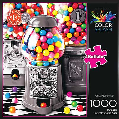 Buffalo Games Gumball Surprise 1000pcs -- Jigsaw Puzzle 600-1000 Piece -- #11641
