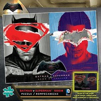 Buffalo-Games Batman vs Superman Glow-in-the-Dark Puzzle (1000pc)