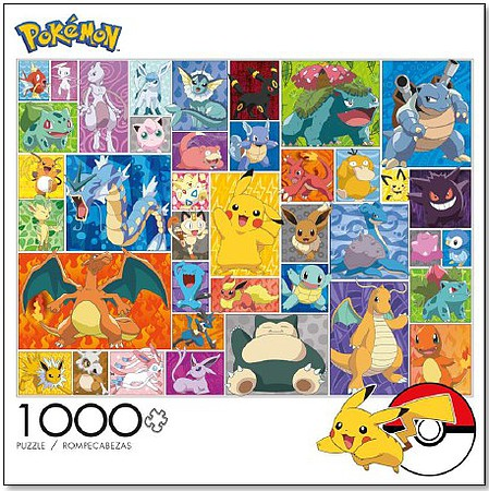 Buffalo-Games Pokmon Characters Collage Puzzle (1000pc)