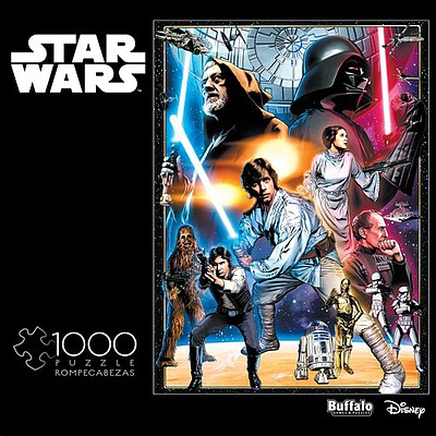 Buffalo-Games Star Wars Vintage Art- The Circle is now Complete Puzzle (1000pc)
