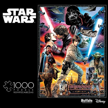 Buffalo-Games Star Wars The Empire Strikes Back- Youll Find Im Full of Surprises Collage Puzzle (1000pc)