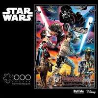 Buffalo-Games Star Wars The Empire Strikes Back- You'll Find I'm Full of Surprises Collage Puzzle (1000pc)