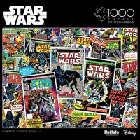 Buffalo-Games Star Wars Collage- Classic Comic Books Puzzle (1000pc)