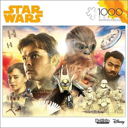 Buffalo-Games Star Wars Solo A Star Wars Story- Good Feeling About This Collage Puzzle (1000pc)
