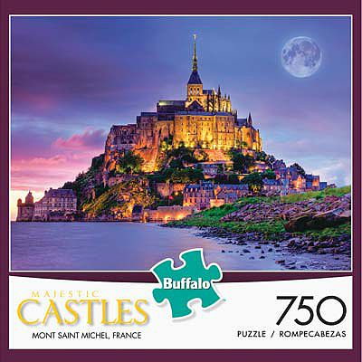 Buffalo Games Mont St. Michel RP 750pcs -- Jigsaw Puzzle 600-1000 Piece -- #17057