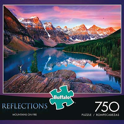 Buffalo Games Mountains On Fire 750pcs -- Jigsaw Puzzle 0-599 Piece -- #17092