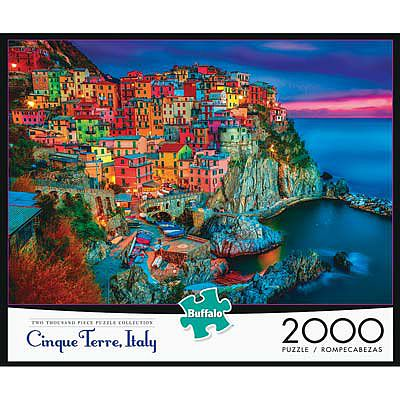 Buffalo Games New Cinque Terre 2000pcs -- Jigsaw Puzzle Over 1000 Piece -- #2034
