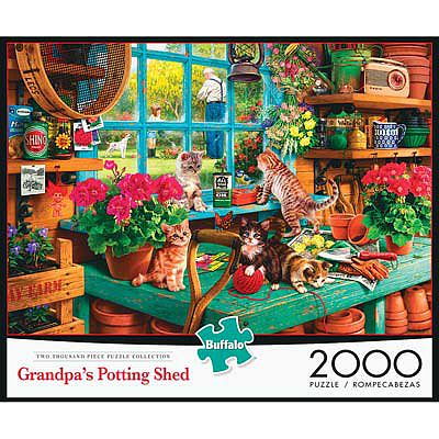 Buffalo Games Grandpa's Shed 2000pcs -- Jigsaw Puzzle Over 1000 Piece -- #2048