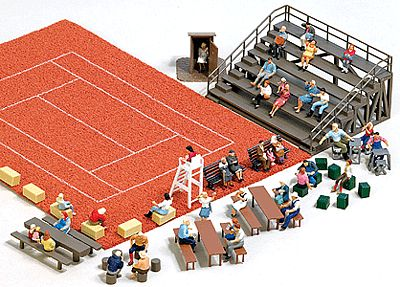 Busch Gmbh Outdoor Seating Set - Kit -- HO Scale Model Railroad Building Accessory -- #1142