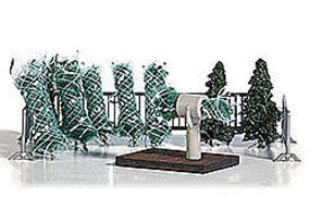 Busch Christmas Tree Sale Scene Model Railroad Tree #1182