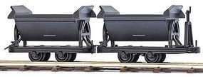 Busch Tipper Wagons (2) HO Scale Model Train Freight Car #12216