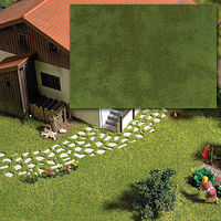 Busch Groundcover Pad Summer Model Railroad Grass Earth #1319