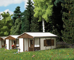 Busch Summer Camp Bungalow GL14 Kit HO Scale Model Railroad Building #1393