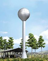 Busch East German Water Tower - Kit (Hard Foam) HO Scale Model Railroad Building #1417