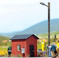 Busch Watchmans Shanty - 1-3/4 x 1-1/4 x 1-1/2 HO Scale Model Railroad Building #1429