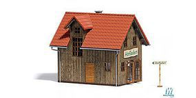 Busch Farm Shop HO Scale Model Railroad Building #1512