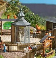 Busch Owl Aviary - Kit HO Scale Model Railroad Building #1581
