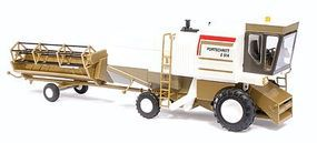 Busch 1982 Fortschritt E 514 Farm Combine HO Scale Model Railroad Vehicle #40168