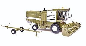 Busch 1982 Fortschritt E 514 Farm Combine HO Scale Model Railroad Vehicle #40171