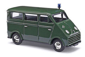Busch DKW 3=6 Van Police HO Scale Model Railroad Vehicle #40922