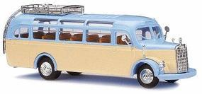 Busch 1949 Mercedes-Benz O-3500 Bus Riesebus HO Scale Model Railroad Vehicle #41045