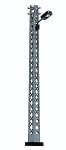 Busch Lattice-Mast Industrial Lamp - Rectangular Housing HO Scale Model Railroad Roadway Light #4130