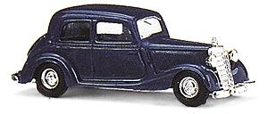 Busch Gmbh 1936 Mercedes-Benz 170V Sedan Various Colors -- HO Scale Model Railroad Vehicle -- #41409
