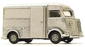 Busch 1958 Citroen HY Van Silver HO Scale Model Railroad Vehicle #41909