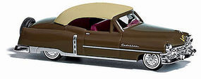 Cadillac '52 brown HO Scale Model Railroad Vehicle #43423