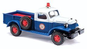 Busch 1945-68 Dodge Power Wagon 4x4 High Voltage Technician HO Scale Model Railroad Vehicle #44015