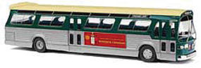 Busch Fishbowl Bus Chicago HO Scale Model Railroad Vehicle #44507