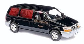 Busch 1990 Plymouth Voyager Minivan Funeral Parlor HO Scale Model Railroad Vehicle #44622