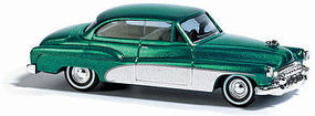 Busch Buick 50 green Metallic HO Scale Model Railroad Vehicle #44723