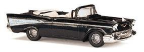 Busch 1957 Chevrolet Bel Air Convertible Various Colors HO Scale Model Railroad Vehicle #45007