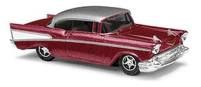 Chevy Bel Air '57 red