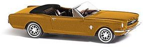 Busch 1964 Ford Mustang Convertible Top Down HO Scale Model Railroad Vehicle #47511