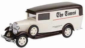 Busch 1931 Ford Model AA 1-Ton Panel Truck The Times HO Scale Model Railroad Vehicle #47725