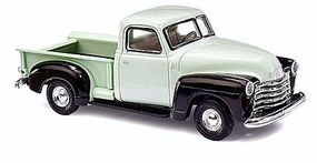 Busch 1950 Chevrolet Pickup Truck Assorted 2-Color Schemes HO Scale Model Railroad Vehicle #48230