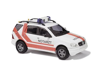 European emergency mercedes benz m klasse suv notarzt for Mercedes benz emergency