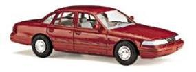 Busch 1997 Ford Crown Victoria 4-Door Sedan Various Colors HO Scale Model Railroad Vehicle #49000