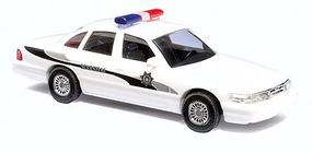 Busch 1997 Ford Crown Victoria 4-Door Sedan Marshall HO Scale Model Railroad Vehicle #49026