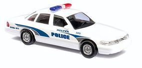 Busch 1997 Ford Crown Victoria 4-Door Sedan Helper, Utah HO Scale Model Railroad Vehicle #49027