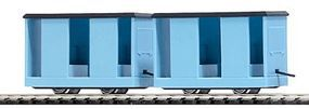 Busch Mining Personnel Carrier Car 2-Pack Light Blue (2) HO Scale Model Train Freight Car #5027